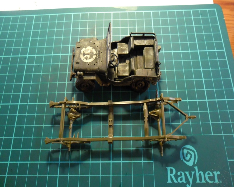 "Jeep Willys ""Short Stop"" Italeri 1/24 (finie) 1506co10"