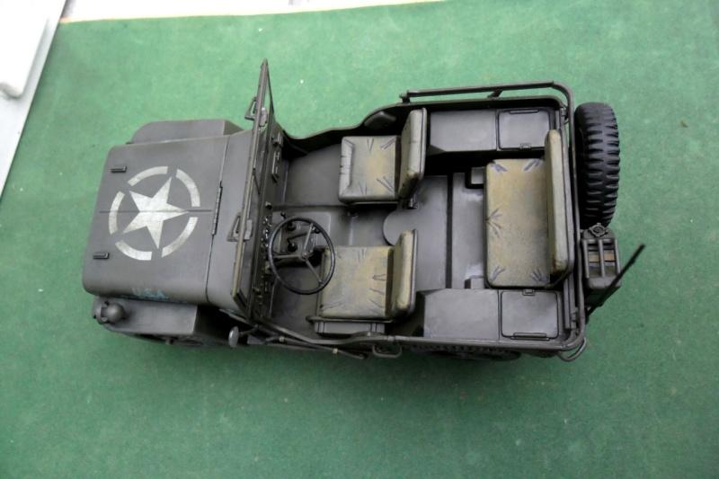 """Jeep Willys """"Short Stop"""" Italeri 1/24  """"In situ"""" 15070014"""