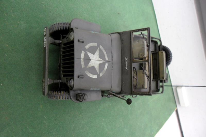 """Jeep Willys """"Short Stop"""" Italeri 1/24  """"In situ"""" 15070015"""