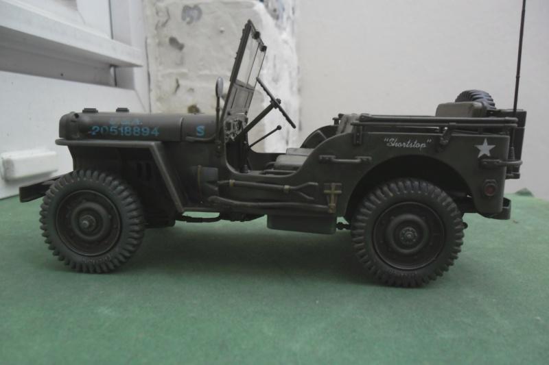 """Jeep Willys """"Short Stop"""" Italeri 1/24  """"In situ"""" 15070016"""