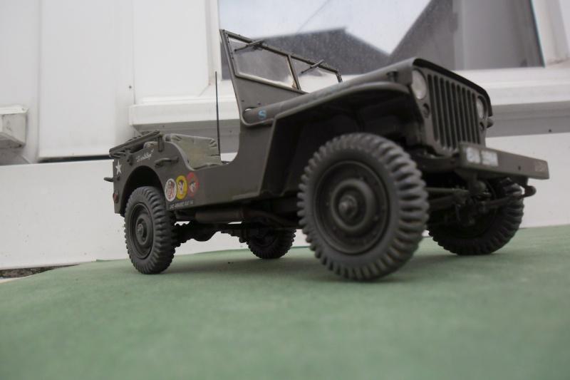 """Jeep Willys """"Short Stop"""" Italeri 1/24  """"In situ"""" 15070017"""