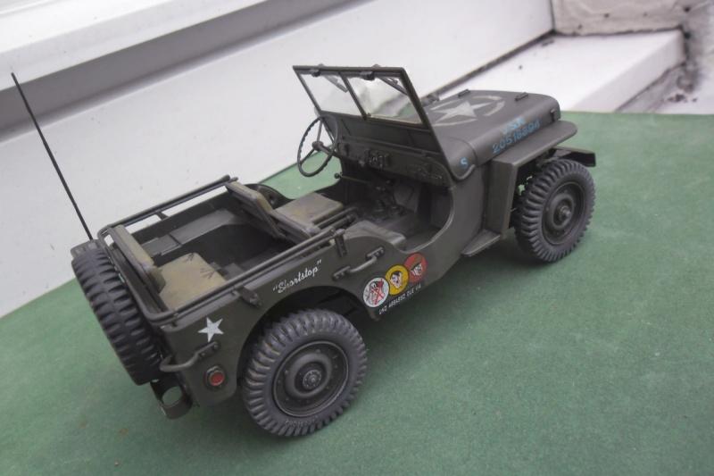 """Jeep Willys """"Short Stop"""" Italeri 1/24  """"In situ"""" 15070018"""