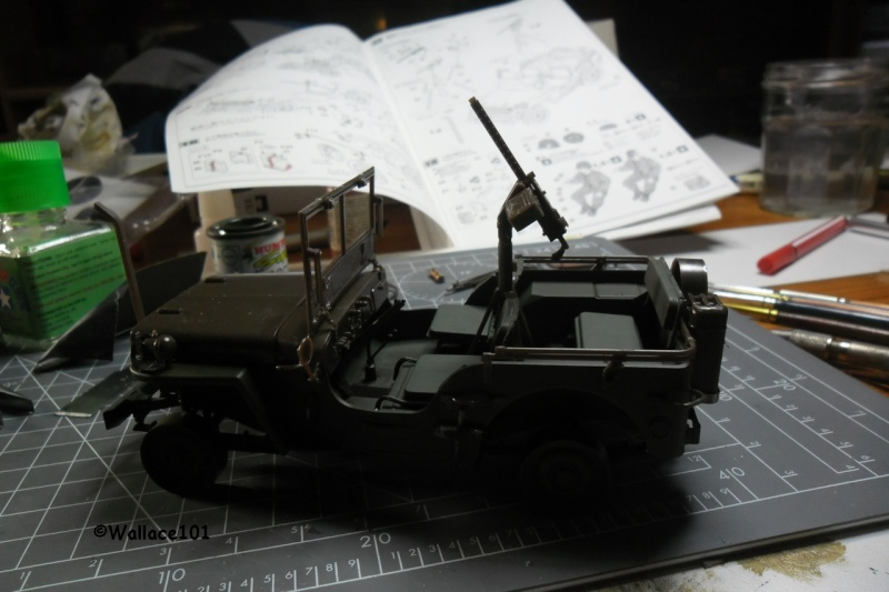 Jeep Willys MB hasegawa + Eduard 1/24 (Configuration finale) - Page 3 16120012