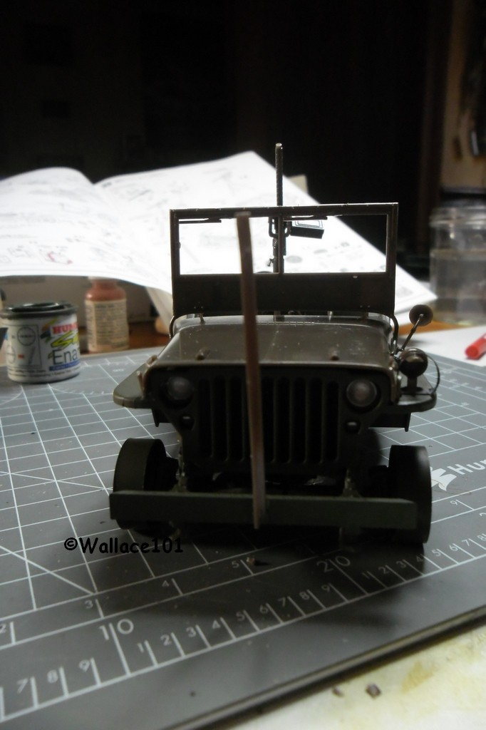 Jeep Willys MB hasegawa + Eduard 1/24 (Configuration finale) - Page 3 16120013