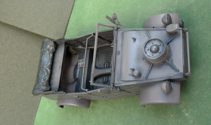 "Kübelwagen Type 82 ""DAK"" Hasegawa 1/24 (terminée) - Page 4 19090012"