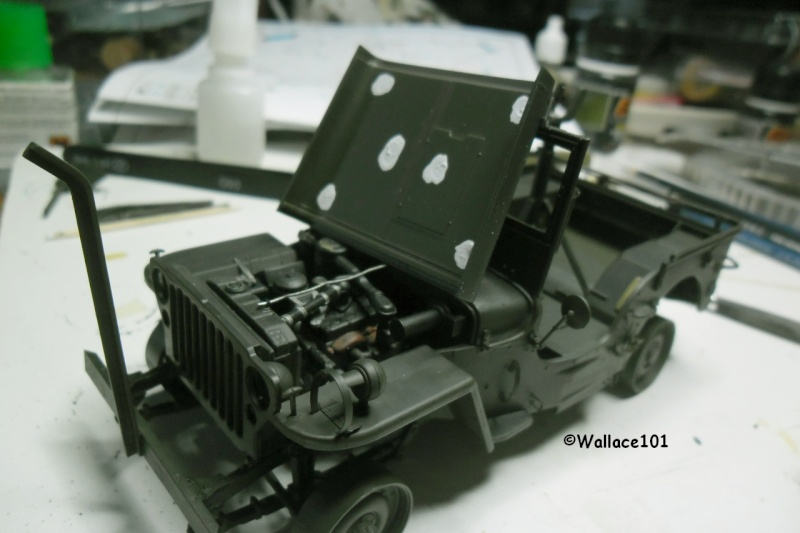 Jeep Willys MB hasegawa + Eduard 1/24 (Configuration finale) - Page 4 28120114
