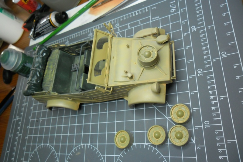 "Kübelwagen Type 82 ""DAK"" Hasegawa 1/24 (terminée) - Page 6 Filtre12"