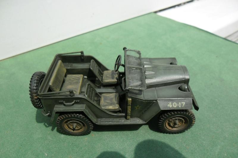 GAZ 67 B Field car Tamiya 1/35 (terminée) - Page 3 Fin_0010