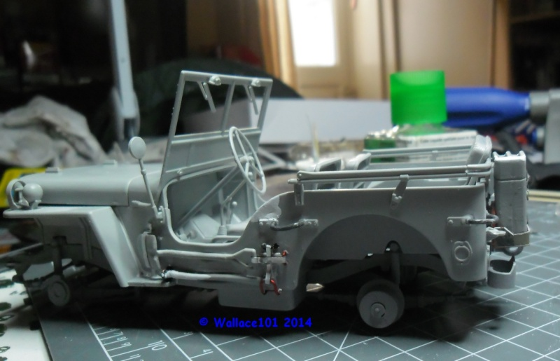 Jeep Willys Italeri 1/24 (ref: 6351) (débuts peintures) - Page 4 Montag11