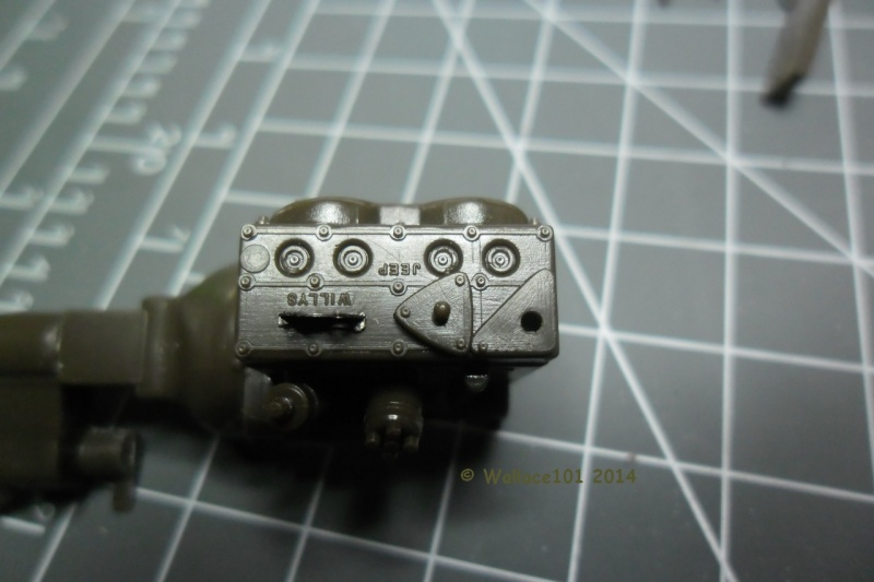 Jeep Willys MB hasegawa + Eduard 1/24 (Configuration finale) Moteur38