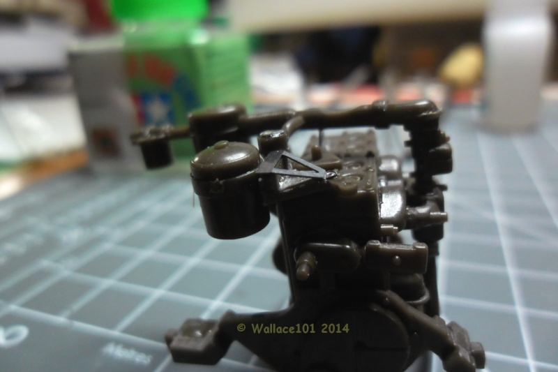 Jeep Willys MB hasegawa + Eduard 1/24 (Configuration finale) Moteur40