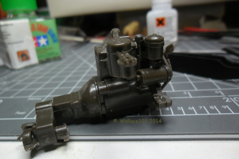 Jeep Willys MB hasegawa + Eduard 1/24 (Configuration finale) Moteur42