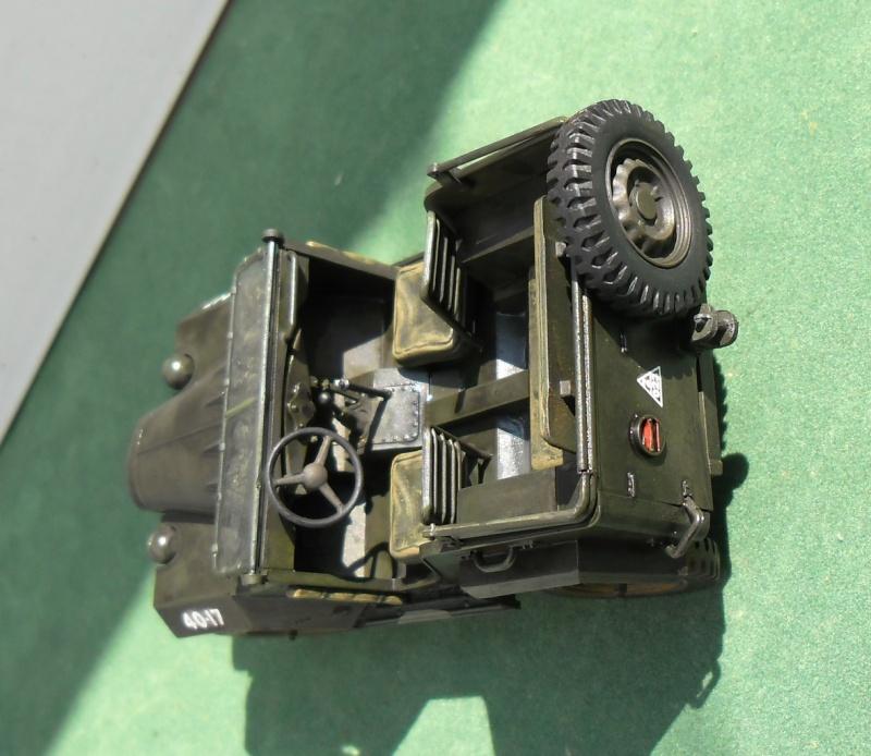 GAZ 67 B Field car Tamiya 1/35 (terminée) - Page 3 Patine16