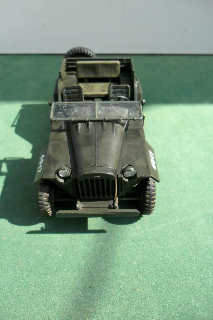 GAZ 67 B Field car Tamiya 1/35 (terminée) - Page 3 Patine17