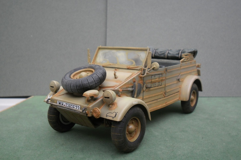 "Kübelwagen Type 82 ""DAK"" Hasegawa 1/24 (terminée) - Page 6 Patine23"