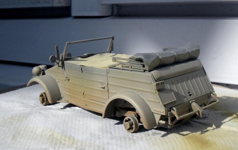 """Kübelwagen Type 82 """"DAK"""" Hasegawa 1/24 (terminée) - Page 6 Peint_10"""