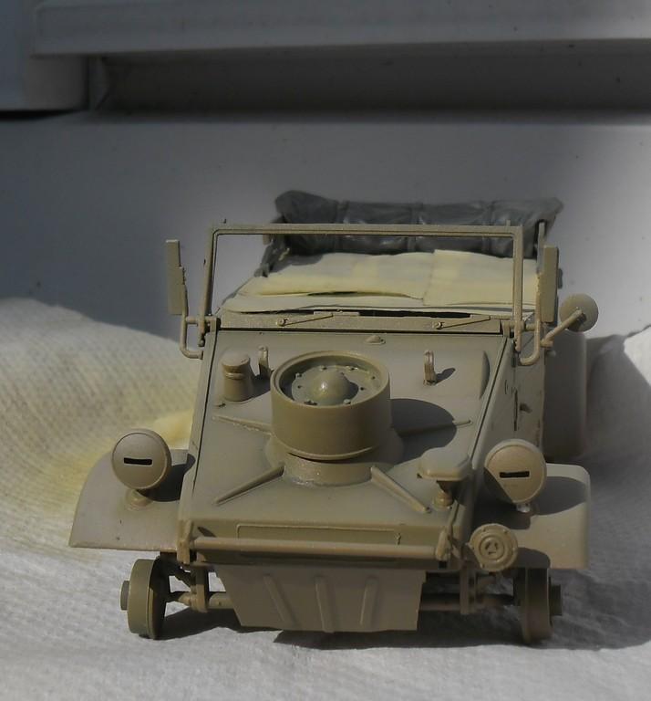 """Kübelwagen Type 82 """"DAK"""" Hasegawa 1/24 (terminée) - Page 6 Peint_12"""