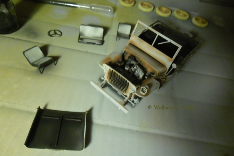 Jeep Willys Italeri 1/24 (ref: 6351) (débuts peintures) - Page 4 Preomb17