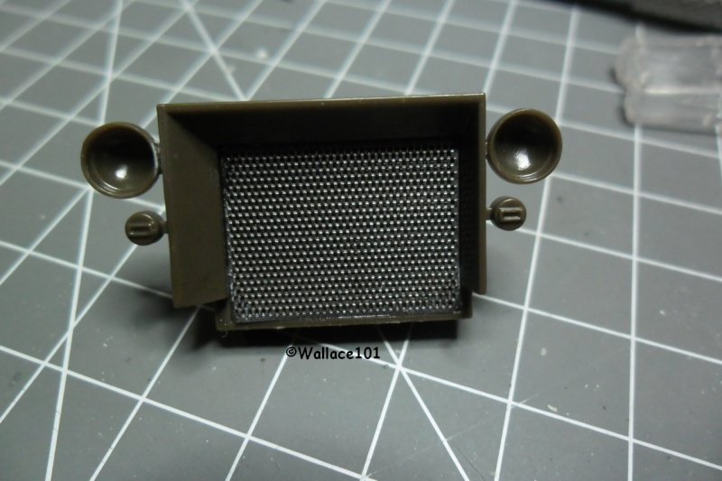 Jeep Willys MB hasegawa + Eduard 1/24 (Configuration finale) - Page 3 Radiat11