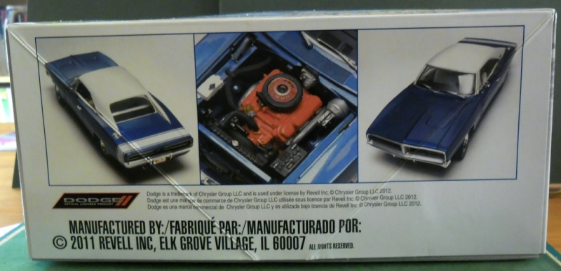 """Dodge Charger R/T 1969 """"Général Lee"""" 1/25 : Décès de Rosco (page 6) Revell11"""