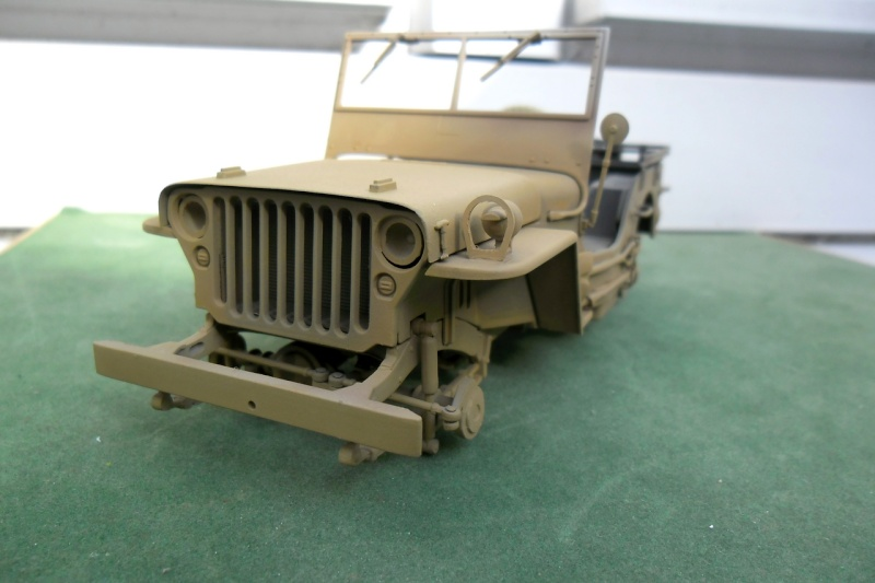 Jeep Willys Italeri 1/24 (ref: 6351) (débuts peintures) - Page 5 Sable011