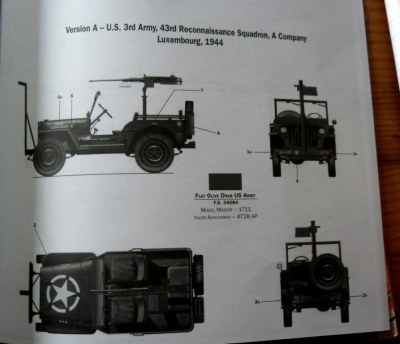 Willys Jeep with M2 Machine Gun Italeri 1/24 (6351) Sans_108