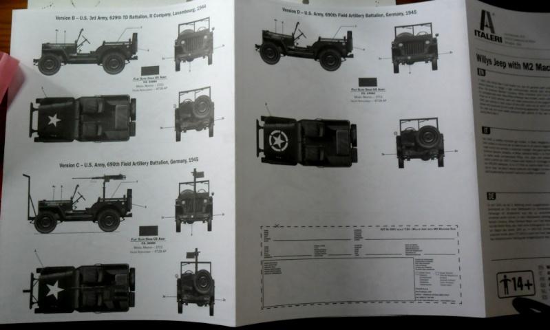 Willys Jeep with M2 Machine Gun Italeri 1/24 (6351) Sans_109