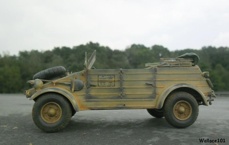 Kübelwagen 999 Leichte Afrika Division Grèce 1943 (Hasegawa 1/24) In Situ Sans_t84