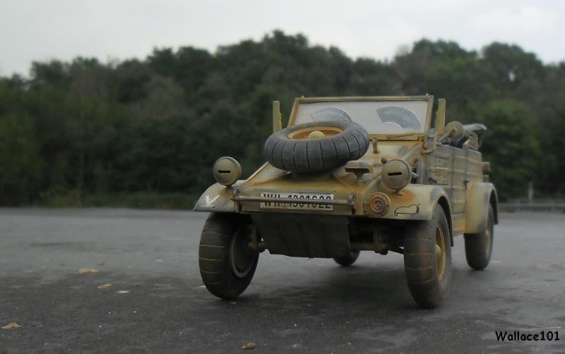 Kübelwagen 999 Leichte Afrika Division Grèce 1943 (Hasegawa 1/24) In Situ Sans_t85
