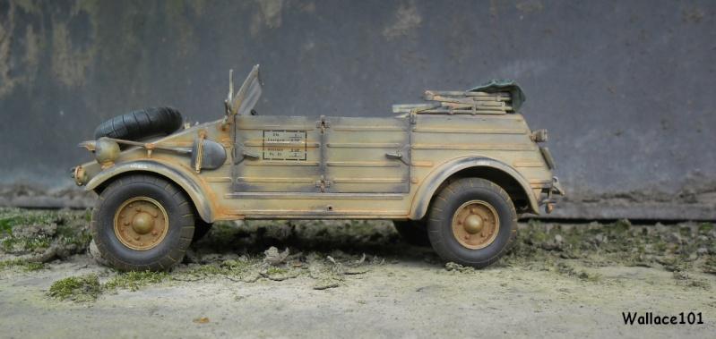 Kübelwagen 999 Leichte Afrika Division Grèce 1943 (Hasegawa 1/24) In Situ Sans_t86