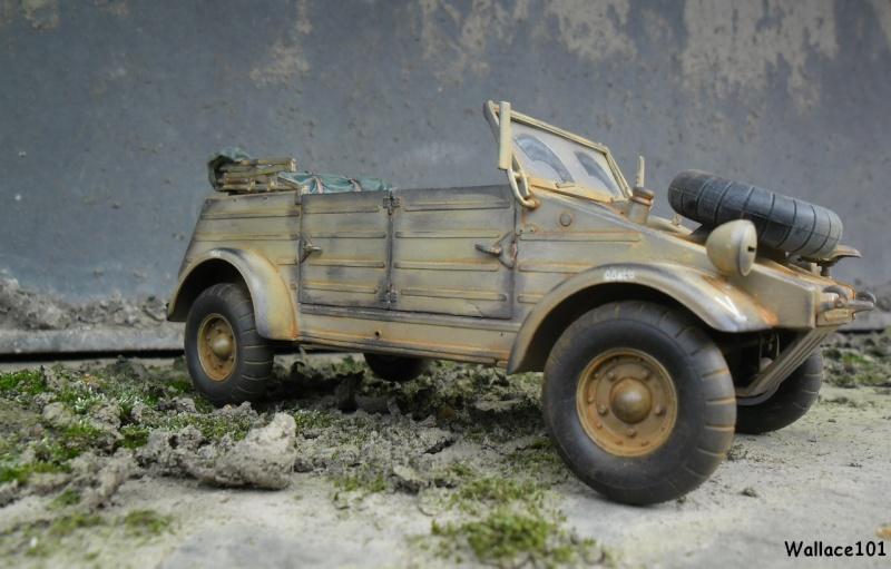 Kübelwagen 999 Leichte Afrika Division Grèce 1943 (Hasegawa 1/24) In Situ Sans_t87