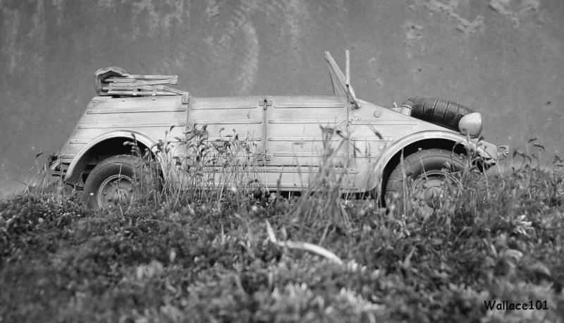 Kübelwagen 999 Leichte Afrika Division Grèce 1943 (Hasegawa 1/24) In Situ Sans_t90