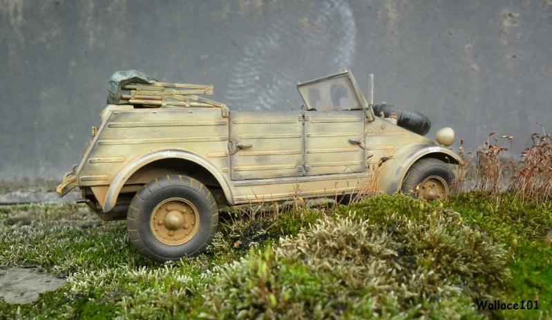 Kübelwagen 999 Leichte Afrika Division Grèce 1943 (Hasegawa 1/24) In Situ Sans_t93
