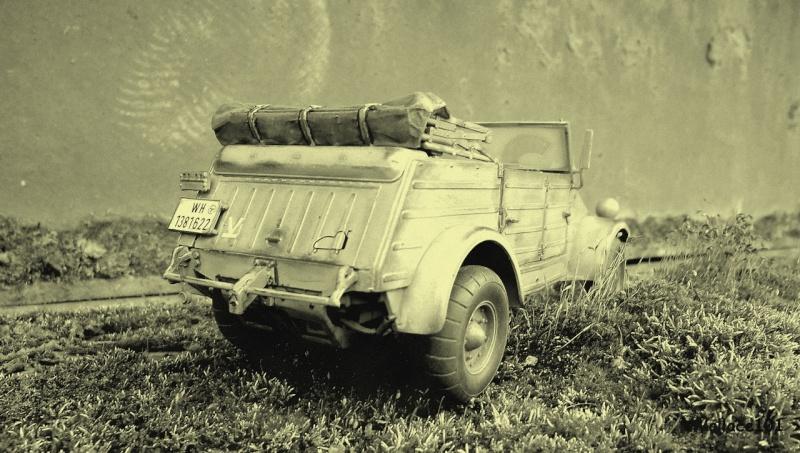 Kübelwagen 999 Leichte Afrika Division Grèce 1943 (Hasegawa 1/24) In Situ Sans_t94