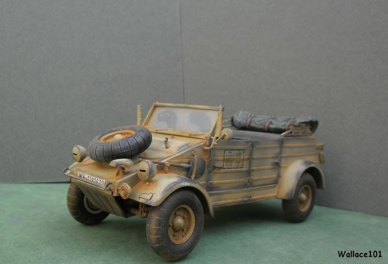 Kübelwagen 999 Leichte Afrika Division Grèce 1943 (Hasegawa 1/24) In Situ Termin35