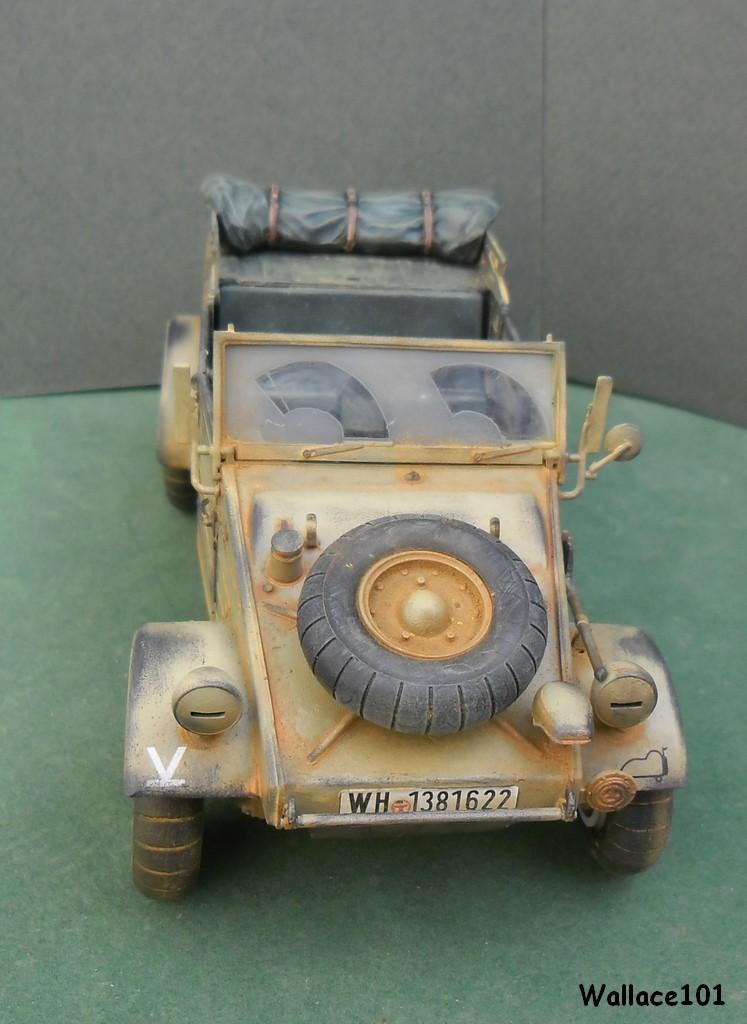 Kübelwagen 999 Leichte Afrika Division Grèce 1943 (Hasegawa 1/24) In Situ Termin36