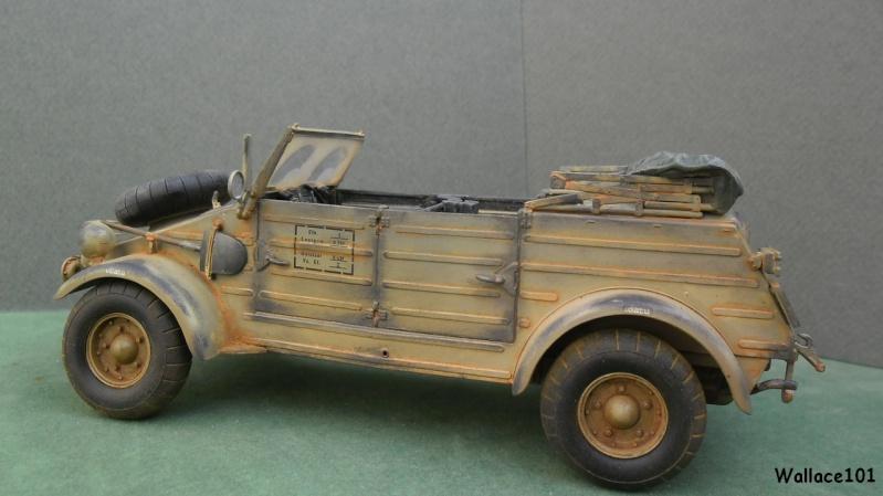 Kübelwagen 999 Leichte Afrika Division Grèce 1943 (Hasegawa 1/24) In Situ Termin39