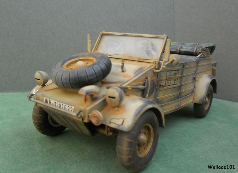 Kübelwagen 999 Leichte Afrika Division Grèce 1943 (Hasegawa 1/24) In Situ Termin40