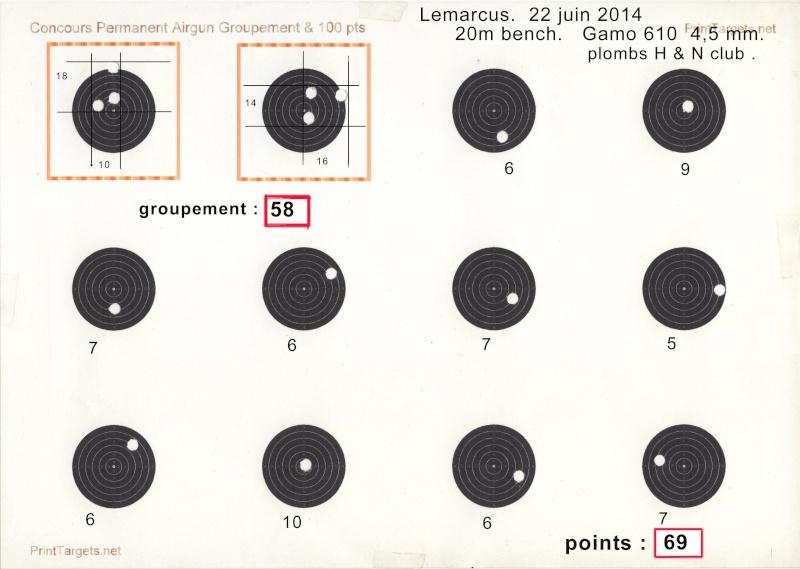 """Concours permanent bimestriel """"groupement & 100pts"""" sur cible CC A4 : Mai Juin 2014 - Page 11 Carton11"""
