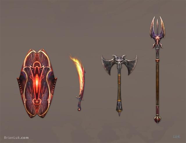 Cytra - Hand der Dämonen Weapon10