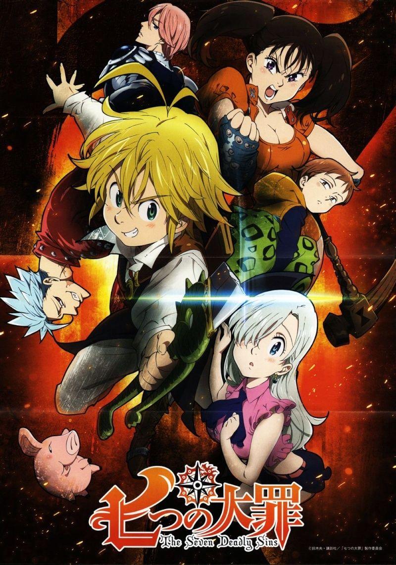 [MANGA/ANIME] Seven Deadly Sins (Nanatsu no Taizai) 20140810