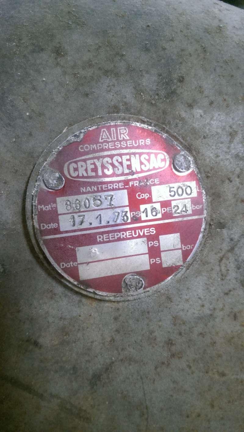 nouveaux venu; un compresseur creyssensac a restaurer...si il en vaut encore la peine! ^^ Imag0315