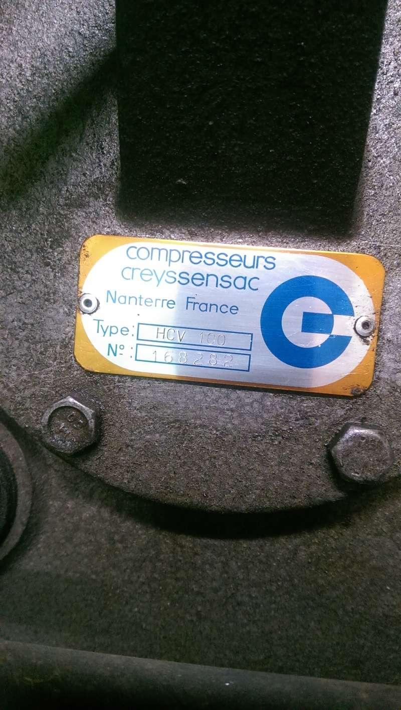 nouveaux venu; un compresseur creyssensac a restaurer...si il en vaut encore la peine! ^^ Imag0316