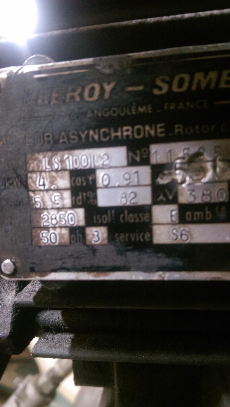 nouveaux venu; un compresseur creyssensac a restaurer...si il en vaut encore la peine! ^^ Imag0317