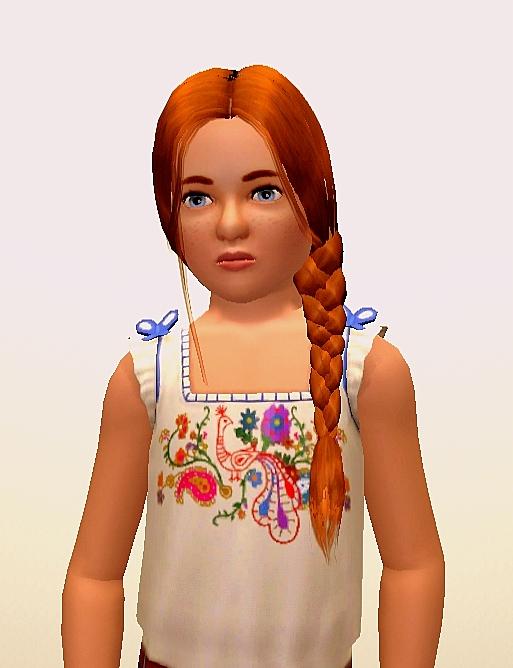 [Clos] L'Agence - Princesse du Parc pour Enfants Rose Angell10