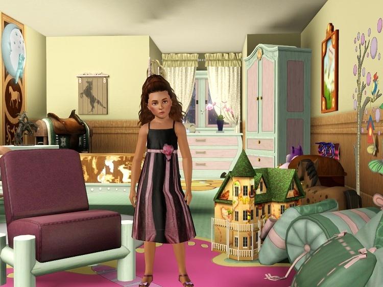 [Clos] L'Agence - Princesse du Parc pour Enfants Rose Sonia_12