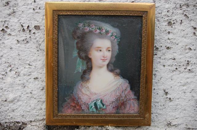 A vendre: tableaux Marie-Antoinette, Versailles et XVIIIe siècle 051e2b10