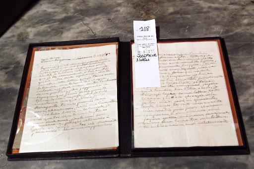 Le contrat de mariage de Joséphine et de Bonaparte aux enchères 05681e10