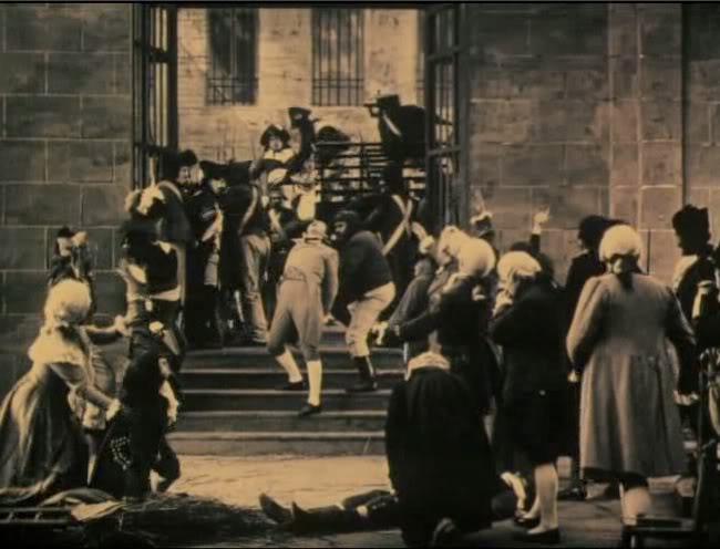 Le chevalier de Maison Rouge avec Lea Piron par Albert Capellani - 1913 06_che10