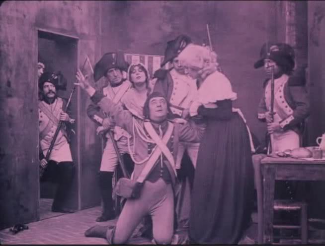 Le chevalier de Maison Rouge avec Lea Piron par Albert Capellani - 1913 07_che10
